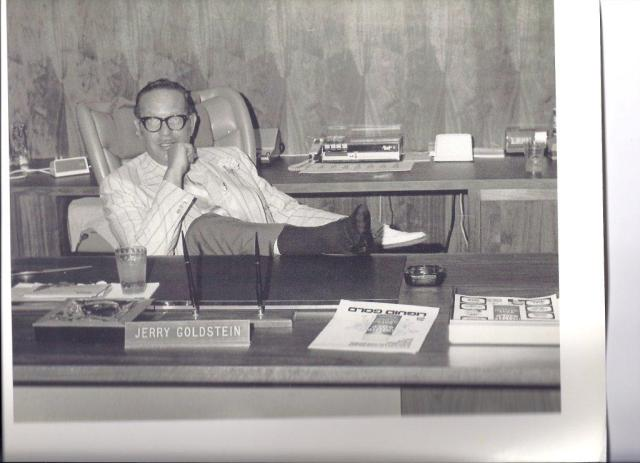 Jerry Goldstein in 1970 after moving  the plant to its current location in Denver.