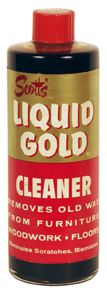 The Scott's Liquid Gold bottle in 1965.